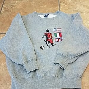 Small lands end sweater
